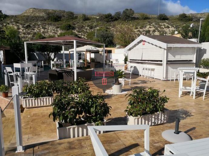 BAR-RESTAURANTE-HOTEL 1800M2 EL CAMPELLO